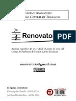 Informe Concurso General de Traslados