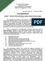 Reservation Revised Proforma Dereservation Proposals 7-12-09