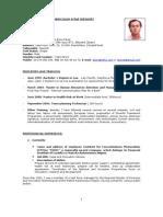 CV English. May 2008