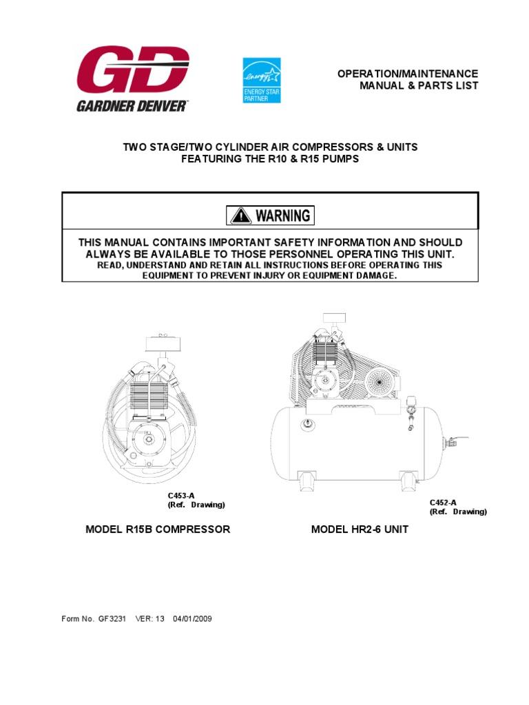 Gardner Denver Motor Wiring Diagram - Wiring Diagram K10 on