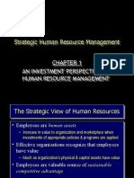 An Investment Perspective of Human Resource Management