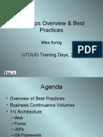 11iAppsOverview&BestPractices