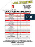 Railways New Plan