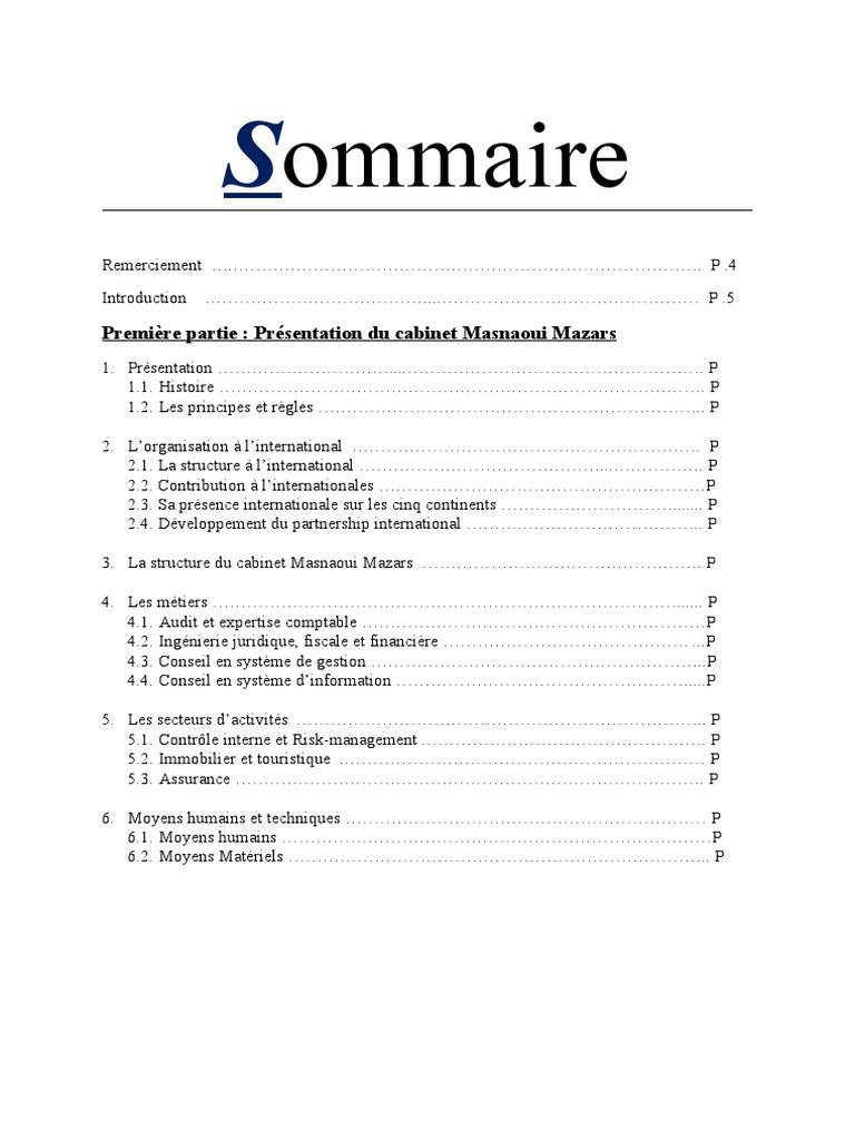 pdf demande de stage cabinet comptable
