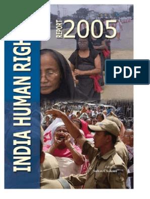 India Crime Report 2005 | Dalit | Criminal Justice