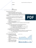 2011 Value Investing Congress Notes