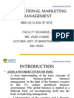 18926113 International Marketing Ppt Vivek Kumar (3)