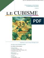 LE CUBISME Dossier Centre Pompidou