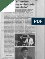 """Pedroso é """"melhor do que uma embaixada ou um consulado"""""""
