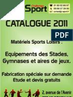 Equipements des Stades et Gymnases