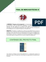 Mercadotecnia III - Proyecto Final Ene 11