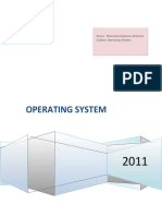 (OS) Operating System
