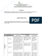 FICHAMENTO. A dialética na pesquisa em educação elementos de contexto