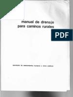 Manual de Drenaje Para Caminos Rurales