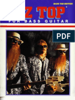 Zz Top the Best of for Bass Guitar-(Us-bass-Isbn0898987695)