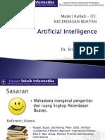 Pertemuan 1 Artificial Intelligence