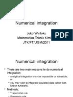 01 Numerical Integration