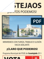CASATEJADA  PROGRAMA  PSOE 2011
