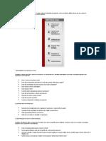 A metodologia de Processos é composta de 6 etapas