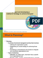 Why do managers plan?