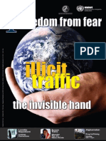 UNICRI - Max Plank Institute Freedom For Fear Octobre 2008  Illicit Traffic The Invisible Hand