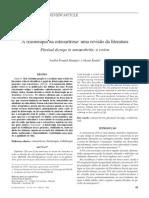 A fisioterapia na osteoartrose uma revisão da literatura