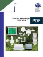 Manual Estacion Meteorologic A Pce Fws20