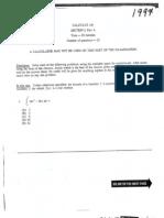 1997 AP Calculus AB Exam
