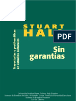 Sin Garantias Stuart Hall