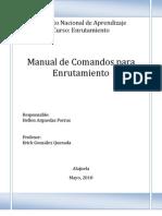 Manual Comandos de En Rut Adores