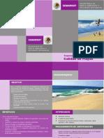 Folleto Esquema Certificacion Playas