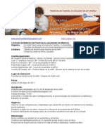 I Jornada de Medicina de Familia Para Estudiantes_programa