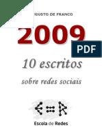 2009 10 Escritos Sobre Redes Sociais Augusto de Franco