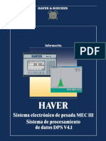 Sistema Electronico de Pesada MEC III