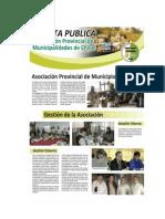 Cuenta Pública APMCH 2009 - 2011.-