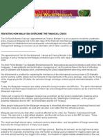 EVISITINGHOWMALAYSIAOVERCAMETH FINANCIALCRISIS