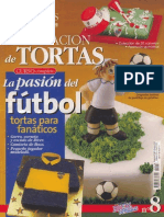 Curso Decoracion de Tortas La Pasion Del Futbol