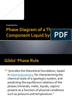 Phase Diagram of a Three-Component Liquid System