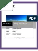 t3_voladura de Rocas_rendimientos y Costos