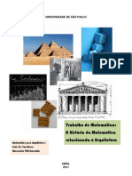 História da Matemática Relacionada à Arquitetura