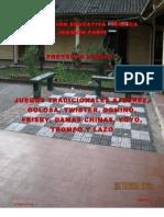 Proyecto  Lúdico 2011