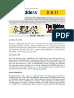 The Hidden Job Report for 5.9.11
