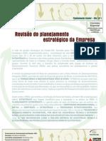 1 - revisão do planejamento estratégico da empresa