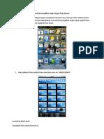 Cara Menampilkan Angka Sinyal Pada iPhone