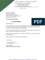 310-Cv-03647-WHA Docket 13-1 Letter to ATT