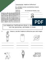Guía de Adjetivos Calificativos