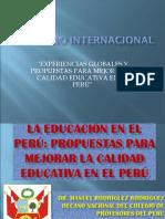 Propuestas Para Mejorar La Calidad Educativa en el Perú