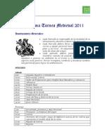 Programa y Bases Torneo Medieval 2011