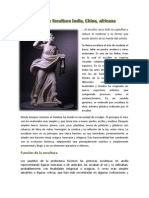 Informe escultura