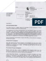 Rathlin Ferry Contract Investigations